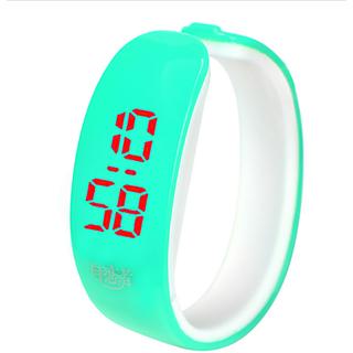 Brandedking colorful Bangle Digital LED watch Sky Blue