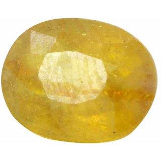 manglam raj ratan 7 Ratti Certified Pukhraj-Yellow Sapphire Gemstone-Ceylon Mines