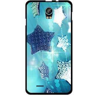 Snooky Designer Print Hard Back Case Cover For Intex Aqua Life 2
