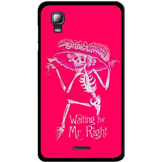 Snooky Designer Print Hard Back Case Cover For Micromax Canvas Doodle 3 A102
