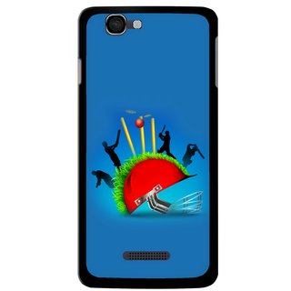 Snooky Designer Print Hard Back Case Cover For Micromax Canvas Colours A120