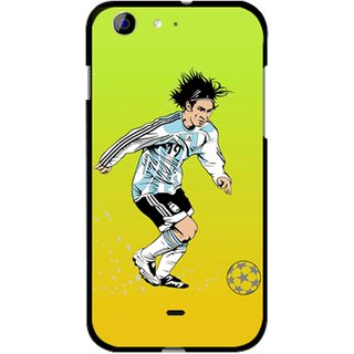 Snooky Designer Print Hard Back Case Cover For Micromax Canvas 4 A210