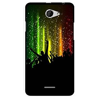 Snooky Designer Print Hard Back Case Cover For HTC Desire 516