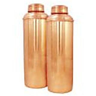 Ankur Shopping Cart Copper Vaccum Bottle ( Combo Pack )