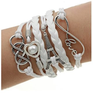 Trendy Multilayer Leather Bracelet for girls/women-Designer, fashionable,gift-birthday/friendship day/rakhi