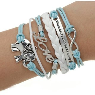 Trendy Multilayer Leather Bracelet for girls/women-Designer, fashionable,gift-birthday/friendship day/rakhi