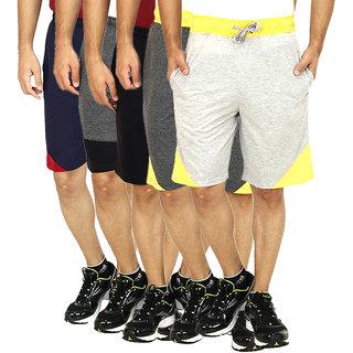 Christy World solid Shorts set of 5