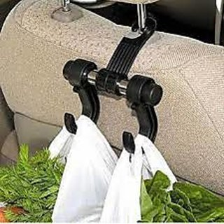Car Hanger Bags Organizer 2 Hooks Auto Accessories Backrest Holder Clothes Hold