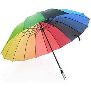 Jumbo Rainbow Umbrella(Multicolor)