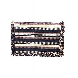 Diwaah Hand Crafted Multi Embroidered Flap Over Clutch DWH000000409