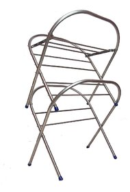 Stainless Steel Baby Cloth Drying Stand With 13 Rods - 8 Meter Drying Space