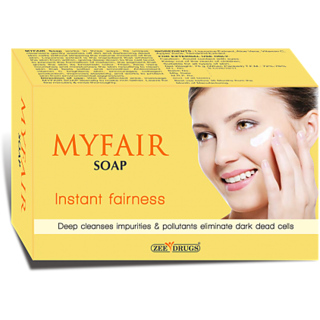 My fair instant fairness soap(set of 5 pcs.)75 gms each