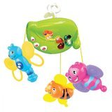 Mitashi Skykidz Fun Animal Musical Mobile, Multi Color