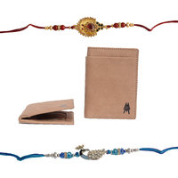 Mohit Special Rakhi  Gift Set Combo Of  2 Rakhis And Ca