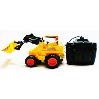 Hercules Jcb Truck Loader Battery Remote Control Kid Gift Child
