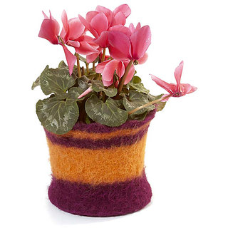 Decorative Flower Pot Craft Pattern