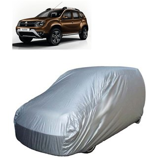 Autoplus Car Cover For Renault Duster (Silver C-6xl)