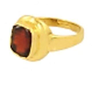 7.25 Ratti Rahuranta Hessonite Gomed Adjustable Ring
