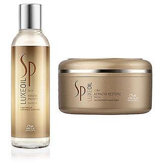 Combo Wella SP Luxe Oil Keratin Protect Shampoo & Oil Keratin Restore Mask - 82649012