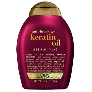 Organix Anti-Breakage Keratin Oil Shampoo (385ml)