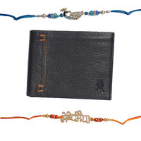Mohit Special Rakhi  Gift Set Combo Of  2 Rakhis And Bl