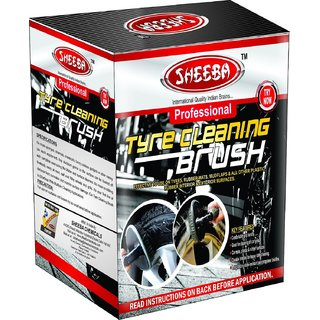 Hard Bristles Easy Grip Professional tyre Cleaning Cleaning Brush Multi-Purpose Use