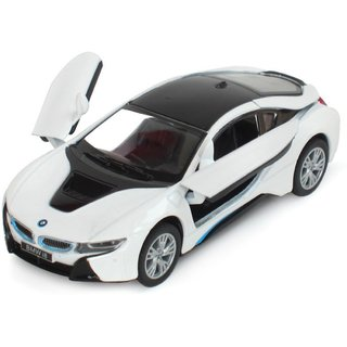 Exclusive Bmw i8 Alloy Diecast Metal Car Model For Collection Model Pull Back Toys Car!!