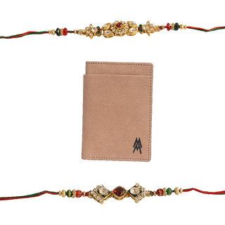 Mohit Fascinating  Rakhi Gift Set Combo Of  2 Rakhis An
