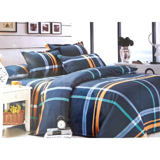 Cotton Double Bed Sheet With Pillow Cover by Shreem Enterprises