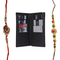Mohit Fascinating Rakhi  Gift Set Combo Of  2 Rakhis An