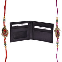Mohit Exclusive Rakhi  Gift Set Combo Of  2 Rakhis And