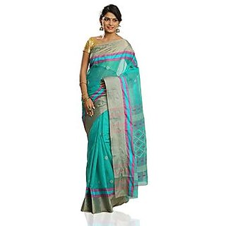 Womens Cotton Unstiched New Sarees