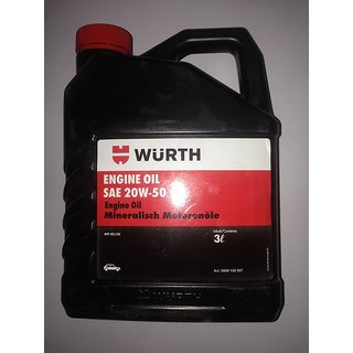 Wurth ENGION OIL SAE 20W50