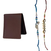 Mohit Special Rakhi  Gift Set Combo Of  2 Rakhis And Br - 94081772