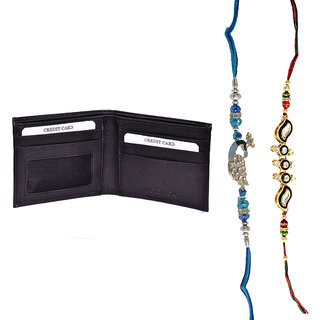 Mohit Special Rakhi  Gift Set Combo Of  2 Rakhis And Br - 94081217