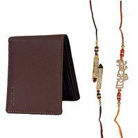 Mohit Special Rakhi  Gift Set Combo Of  2 Rakhis And Br - 94082420