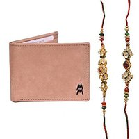 Mohit Special Rakhi  Gift Set Combo Of  2 Rakhis And Br - 94083779