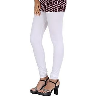 Sri Mitra Fashion Womens White Leggings