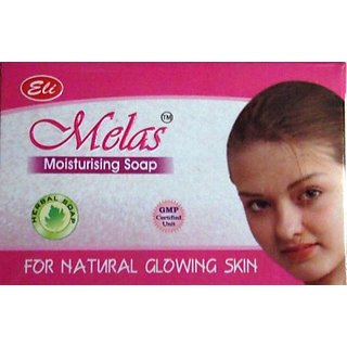 Melas Moisturising Soap For Natural Glowing Skin