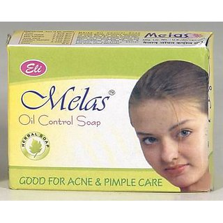 Melas Oil Control Soap Good For Acne And Pimple Care(set of 10 pcs.)