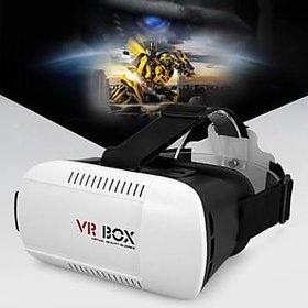Snaptic VR BOX  VR Virtual Reality Glasses Headset Google Cardboard 3d for Smart Phones