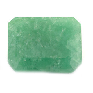 Manglam raj Ratan Certified 7 Ratti / 6.56ct Green Emerald Rashi Gemstone in INDIA