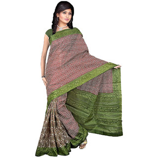 Shopfundeal Somya 81 Multicolor Bhagalpuri Silk Saree