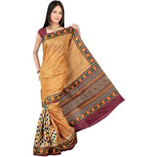 Shopfundeal Somya 91 Multicolor Bhagalpuri Silk Saree