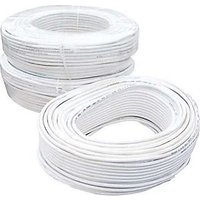 CCTV WIRE CABLE 3+1 CORE Copper-- 90 METER (100 YARDS) GUARNTEED BEST QUALITY
