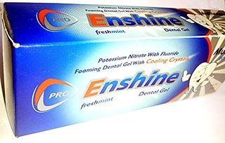 Enshine cooling crystal freshmint dental gel (set of 4 pcs.)
