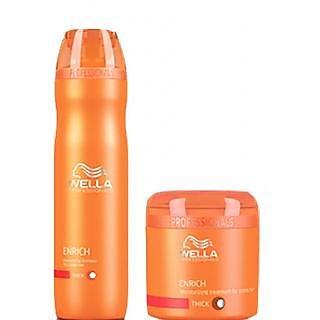 Wella Professional Enrich Moisturising Shampoo Conditioner Combo