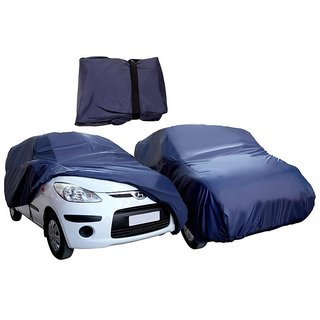 JMJW  AND SONS - Waterproof Parachute Blue Car Body Cover for CHEVROLET CRUZE - (With Side Mirror Pockets)
