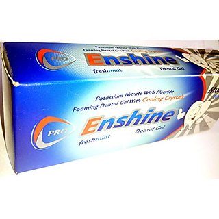 Enshine cooling crystal freshmint dental gel (set of 4 pcs.)