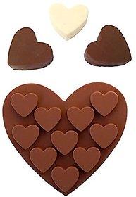 Futaba 10 Heart Shaped Silicone Mold